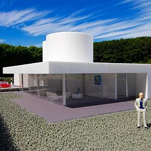 Villa herten deutschland architekturb ro dr klapheck for Architekturburo englisch
